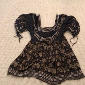 Free People baby doll dress